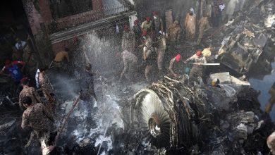 flugzeugabsturz-in-pakistan:-mindestens-45-tote-als-flug-mit-107-abstuerzen-an-bord-in-der-naehe-des-wohngebiets-in-karatschi
